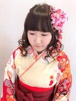 エルパティオ(EL PATIO)成人式 振袖 卒業式 袴 ヘアアレンジ ガーリーハーフアップ