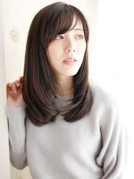 サロン ド クレア(salon de CLEA)の写真/髪質に合わせた厳選した薬材を使用◎CLEAの縮毛矯正に【髪質改善ヘアエステ】をプラスしてサラサラ美髪へ♪