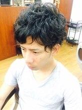 ヘアー クレール(HAIR CLAIRE)黒髪×リバースカール