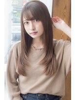 アフロートジャパン(AFLOAT JAPAN)AFLOAT明日香の 大人かわいい とろみ 似合わせカット グレージュ