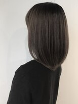フレイムスヘアデザイン(FRAMES hair design)柔らかい質感×透明感♪セミディ×コスメストレート