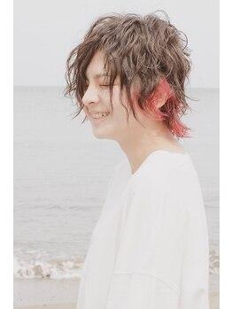 ヘアーメイク ラグズ(Hair Make Luxtz)の写真/イルミナカラーで、お好みのトレンドカラーへ♪お悩み解消!お悩み解決ならHair Make Luxtzへ!