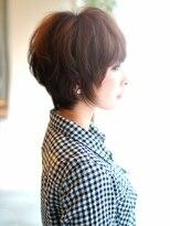 サラヘアー(sarah hair)【sarah 銀座】大人可愛いショートサイド