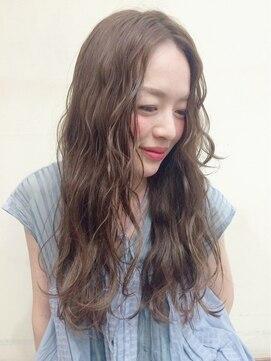 ニコ ヘアーアンドメイク(nico hair&make)nico ヌーディカラー♪ロング