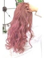 ヘアーサロン エール 原宿(hair salon ailes)(ailes原宿)style316 デザインカラー☆パールピンク