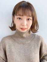 ガーデントウキョウ(GARDEN Tokyo)【GARDEN荒井夏海】オン眉小顔前髪×外ハネレイヤーボブ