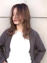 ミンクス 原宿店(MINX)【MINX近藤】ほつれウェーブリラクシーミディ