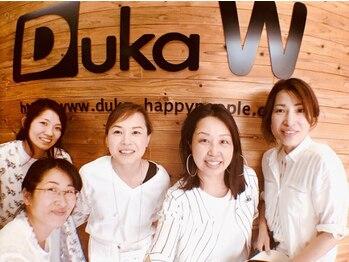 デュッカダブリュー(Duka W)の写真/【御殿山駅徒歩3分/キッズスペース有】『Duka=小さなお店』☆笑顔と温かみ溢れるスタイリストがお出迎え♪