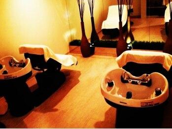 サクラ ビューティー リバージュ(SAKURA Beauty rivage)の写真/【大人気!!至福の60分】深いリラクゼーション効果×上質の頭皮ケア同時OK!特別な専門スパニストの癒しのSPA