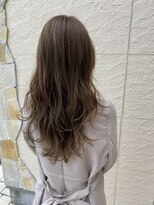ヘアーシー(HAIR C,)大人女子のリラックス感満載!ブラウングレージュ◎