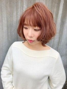 ヘアーブランシュ(HAIR BRANCHE)の写真/<iNOA(イノア)>ダメージを感じさせないオイルグロスカラー。アンモニア無配合オイル生まれのヘアカラー。
