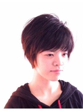 ヘアーカーブ(haircarve)haircarve秋冬・ボブショート・マニッシュ