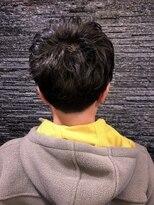プレミアムバーバー 原宿店(PREMIUM BARBER produce by HIRO GINZA)ゆるふわパーマ×ショートスタイル