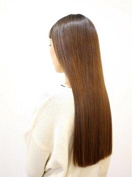 リーベ 秋津店(Liebe)の写真/【新世代の髪質改善システム★SEAMLESS-シームレス-】自然な仕上がりと大好評◎パサつく髪を艶髪へ。