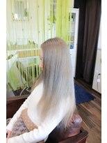 ヘアーサロン リンカ(Hair Salon Rinka)明るめブルージュ☆彡
