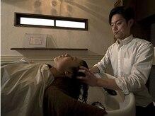 ヘアーディレクション オクハラ(hair direction okuhara)の雰囲気(HIGUCHI式公認ヘッドスパリストによるヘッドスパは必見です)