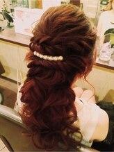 ヘアーメイクアンドネイル マカロン(hair make&nail Macaron)ポニーテール