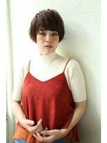 アンアミ オモテサンドウ(Un ami omotesando)【Unami】フリンジバング×マッシュショート島田梨沙