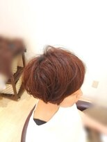 ルードゥス ヘアーデザイン(Ludus hair design)ふんわりマッシュボヴ♪