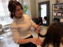 【池袋olive】お客様の髪の毛を大切に考え、ダメージレスにこだわって、柔らかい素敵なヘアスタイルに☆