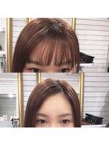 ビーヘアサロン(Beee hair salon)魔法の前髪エクステ