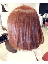 ジェンテ ヘアサプライ(GENTE hair&supply)ボブ モーブ