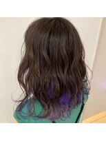 ネオヘアー 曳舟店(NEO Hair)【インナーカラー】パープル×アッシュ(曳舟)