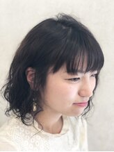 アクイール ピュール ヘア(Accueillir Pur hair)ふわふわパーマスタイル【見附】【長岡】