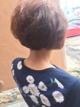 ヴァウ(VOW)の写真/ダメージが少ないカラー。明るくしっかりと染まる白髪染め。地肌が弱い方にもオススメ