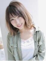 アグ ヘアー ジャパン 札幌9号店(Agu hair japan)くびれセミディなら簡単美人シルエット