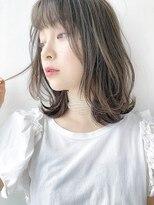 リップス 銀座店(LIPPS)【LIPPS銀座】(安田愛佳)イルミナカラー ワンカールロブ