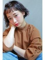 ジェノ(JENO)セミウェットベイビーバングボブ☆