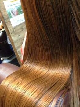 レーヌヘアラウンジ(Reine hair Lounge)の写真/真っすぐすぎない、するんとすべる美髪に♪女性の魅力をグンとあげるナチュラルで柔らかな仕上がりに…