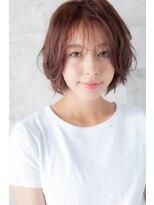 アッシュ ヘアーメイク 桐生(ash hair×make)20代30代40代/大人かわいい/シースルーバング/くせ毛風パーマ