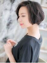 ■mod's上尾6-7★■黒髪がso cool !大人かわいいラフボブ