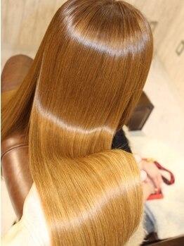 エデン トリートメントサロン 難波店(EDEN)の写真/【特許取得技術/M3DスマートTr】髪質改善して見た目も美しい髪を手に入れるならEDENへ…