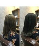 セブン ヘア ワークス(Seven Hair Works)[カラーベーシック]Wカラーで作るグレー系カラー