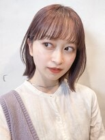 ガーデントウキョウ(GARDEN Tokyo)【GARDEN荒井夏海】大人可愛いくびれボブ×ピンクベージュ