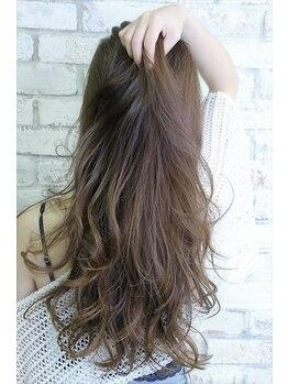 アトリエ ヘア(atelier hair)の写真/厳選した薬の中から髪質に合わせて選定!3Dカット+TrorSpaで再現性・艶・髪質改善もプラス!
