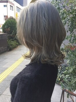 ニコアヘアデザイン(Nicoa hair design)の写真/透明感ある色味からマットな質感まで自由自在◎ヘルシーな色気・程よい抜け感で愛されStyleを叶えます☆