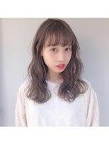 バルーンヘアー(BALLOON HAIR)Wcolor×beige