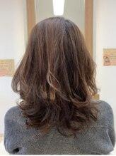クラップス ヘアデザイン(CLapS hair design)くせ毛もスッキリゆるふわデジタルパーマ&カラー