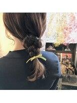 マイ ヘア デザイン(MY hair design)*三つ編みおろしアレンジ*