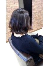 ジルヘアー(Gill hair)外はねボブ