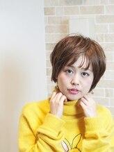 ヘアーメイク プティ(hair make Petite)ふんわりナチュラルショートボブ☆2016冬♪武蔵小山プティ