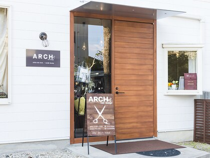 アーチヘアデザイン(ARCH hairdesign)の写真