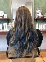 ヘアガーデンプア(Hair Garden Pua)インナーブルーカラー