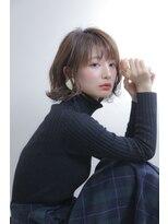 ノル(nol hair&spa)波巻ボブ
