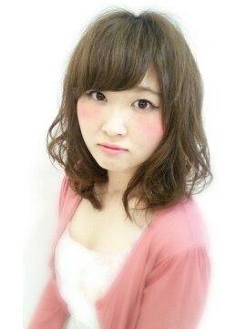 大賀 ヘアビューティ(Oga Hair beauty)ゆるふわフェミニン♪