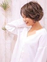 +animo南流山+ひし形シルエット☆丸みショートボブ♪d-3